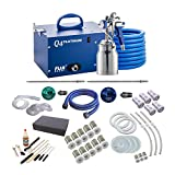 Fuji Q4 Quiet HVLP Spray System with Fuji 2039 Bottom Feed Cup Parts Kit and Accessory Bundle