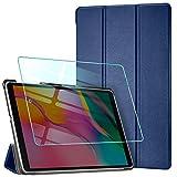 AROYI Coque + Verre Trempé pour Samsung Galaxy Tab A T515/T510 10.1 2019,...