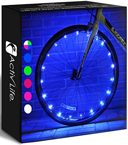 Activ Life LED Bike Wheel Lights with Batteries Included! Get...