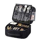 ROWNYEON Makeup Train Case Makeup Bag Organizer Travel Makeup Case Cosmetic Bag Proffessional...