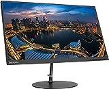 2020 Lenovo 23.8' FHD IPS Monitor, 1920x1080 Resolution, White LED IPS Matte Panel, 3,000,000:1 DCR, 6ms Response Time, 60Hz Refresh Rate, 16.5M + SPMOR Mousepad
