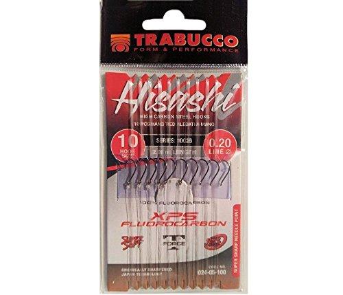 Ami Montati Trabucco Hisashi 11014 Fluorocarbon XPS (amo 8 filo 0.20)