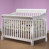 Orbelle Trading Sleigh Crib, White