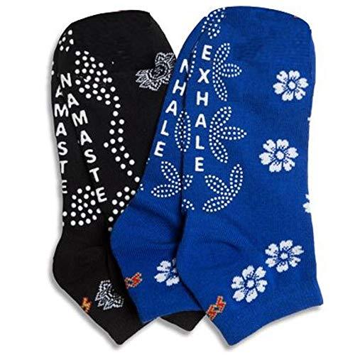 Non-slip Non-Skid Yoga Pilates Socks for Women, Pure Barre,...