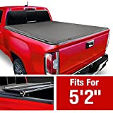 MaxMate Soft Tri-Fold Truck Bed Tonneau Cover Compatible with 2015-2021 Chevy Colorado/GMC Canyon |...