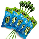 Green Gobbler Drain Opening PAC'S - 8.25 oz 5 Pack & 5 Hair Grabber Tools -...