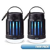 PIC Solar Portable Lantern & Zapper (Twin Pack)