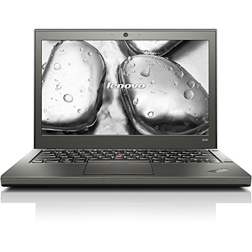 Lenovo ThinkPad X240 12.5in Business Ultrabook Laptop Computer, Intel Core i7-4600U up to 3.3GHz, 8GB RAM, 128GB SSD, Bluetooth 4.0, USB 3.0, Windows 10 Pro (Renewed)