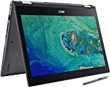 Acer Spin 5 Convertible Laptop, 13.3 inch Full HD IPS Touchscreen (1920 x 1080), Intel Core i7-8565U, 16GB DDR4 RAM, 512GB SSD, Windows 10 Pro, Webcam, Backlit Keyboard, Stylus Pen, 32GB Tela USB Card