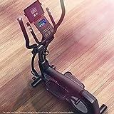 Sportstech Ergomètre CX2   avec générateur d'électricité   avec pré-Montage   Événements vidéo et Applications multijoueurs   Vélo d'appartement avec Support de Table intégré   qualité Allemande