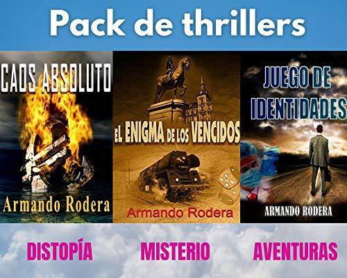 PACK DE THRILLERS de Armando Rodera