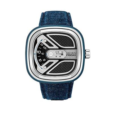 Sevenfriday Urban Explorer Automatic Black Dial Men's Watch M1B/01