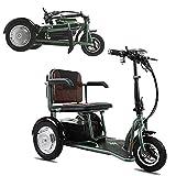MMRLY Tricycle pour Adultes, électrique Pliant Tricycle électrique à...