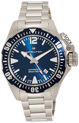 Hamilton Khaki Navy Frogman H77705145 Sportliche Herrenuhr 80h Gangreserve