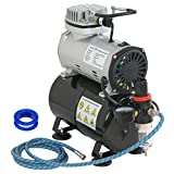 ZENY Pro 1/5 HP Airbrush Air Compressor Airbrushing Kit w/ 3L Tank and...