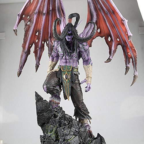 Wow Illidan Action Figure Kollektion Animierte Figur Modell Statue Dekoration Geschenk 57CM -Figuren...