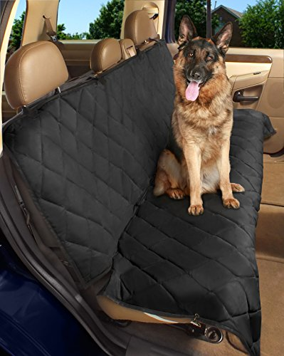 Epica - Deluxe Pet Bench Car Seat Cover, Quilted,...