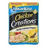 StarKist Chicken Creation Zesty Lemon Pepper - 2.6 oz Pouch (Pack of 12)