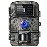 Victure Trail Game Camera 16MP with Night Vision Motion Activated 1080P Hunting Cameras with Low...
