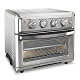 Cuisinart TOA-60 Convection Toaster Air Fryer, 15.5'(L) x 16.0'(W) x 14.0'(H), Silver