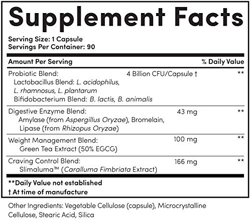 Nucific® BioX4 4-in-1 Weight Management Probiotic Supplement, 90 Count. 5