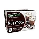 Market & Main OneCup, Classic Hot Cocoa, Compatible with Keurig K-cup Brewers, 12 Count
