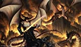 Artists of Magic Premium Playmat for Magic:The Gathering and Other Collectible Card Games -...