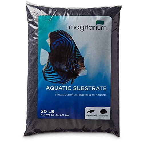 Imagitarium Black Aquarium Sand, 20 LBS