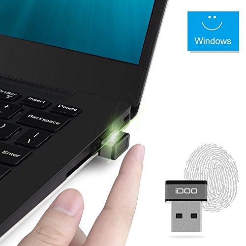Mini USB Fingerprint Reader for Windows 7/8/10 Hello, iDOO...