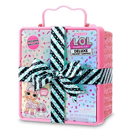 Image 5 - L.O.L. Surprise, Deluxe Present Surprise - coffret avec cadeau effervescent, 1 Poupée 8 cm et 1 Pets 6 cm édition limitée, accessoires, Modèles aléatoires , jouet pour enfants dès 3 ans, LLUD7