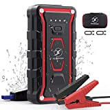 Car Jump Starter,FLYLINKTECH 1500A Peak 20000mAh 12V Portable Car Battery Starter(All Gas&7.0L Diesel Engine), Smart Lithium Jump Starter Auto Battery Booster Built-in LED Light with Quick Charger