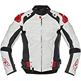 Speed and Strength Revolt Men's Street Motorcycle Jackets - White/Black/Red / 2X-Large