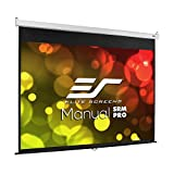 Elite Screens Manual SRM Pro, 100-INCH 4:3, Manual Slow Retract Projector Screen, 8K / 4K Ultra...