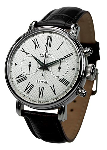 Poljot International Herren-Handaufzugsuhr Chronograph Baikal 2901.1940911