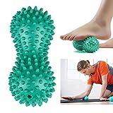 Goodtimes28 Balle de fitness de yoga de massage en forme de cacahuète...