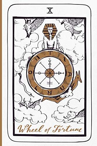 Wheel Of Fortune Tarot Card Journal: Major Arcana Tarot Card...