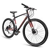 Royce Union Gravel Bike RMG 27.5' Wheels and 19' Frame, Lightweight Aluminum w/ Shimano, 16 Speed
