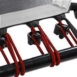 SportPlus Gummiseile-Set für SportPlus Fitness Trampoline, 36 Bungee-Seile inkl. Befestigungsclips,...