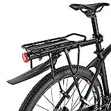 ROCKBROS Porte-Bagages de Vélo Arrière Racks avec Reflecteur...