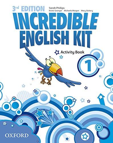 Incredible English Kit 1: Activity Book 3rd Edition (Incredible English Kit Third Edition) - 9780194