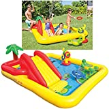 Intex Ocean Inflatable Play Center, 100' X 77' X 31', for Ages 2+