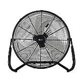 Comfort Zone CZHV18B Quiet 18-inch 3-Speed High-Velocity Fan with Adjustable Tilt