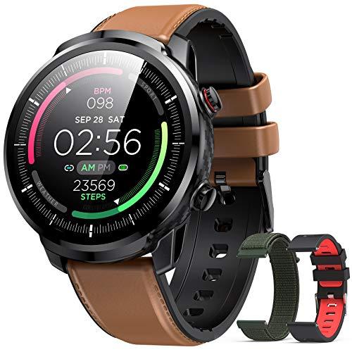 Hommie Montre Connectée Homme Smartwatch Sport Etanche IP68 Bracelet...