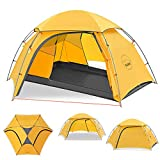 KAZOO Outdoor Camping Tent Durable Lightweight Waterproof Backpack Tents 2 person Hiking tent...