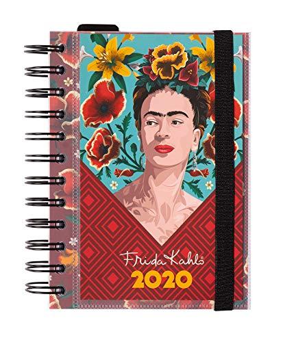 Erik - Agenda annuale 2020, giornaliera, multiuso: scuola, casa, lavoro, 11,4x16 cm - Frida Kahlo