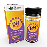 pH Test Strips for Urine & Saliva, Test Alkaline and Acid Levels in The Body. Easy-Instant-Accurate! 100 pH Testing Strips for Alkaline Diet Monitoring.