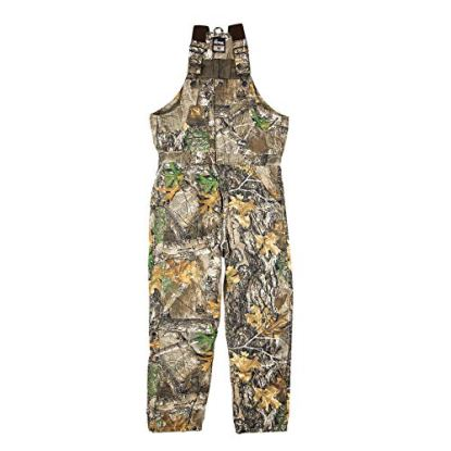 Berne Men's Coldfront Bib Coverall, 4X-Large Tall, Realtree Edge