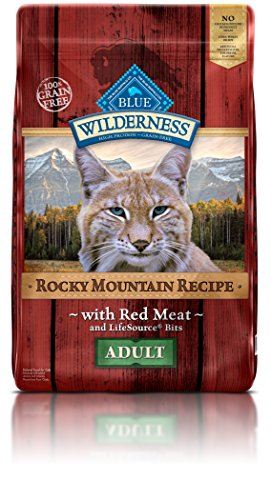 Blue-Buffalo-Wilderness-Rocky-Mountain-Recipe-High-Protein-Grain-Free-Natural-Adult-Dry-Cat-Food-Red-Meat-10-lb