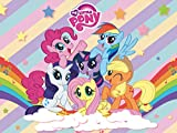 Pony Backdrop | My Little Pony Banner | for Girl | Birthday | Baby Shower | Friendship Collection | Party Supplies | Background