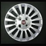 Jeu de 4 Enjoliveurs Neuf pour Fiat Punto 2 1999 avec Roues Originales en 14...